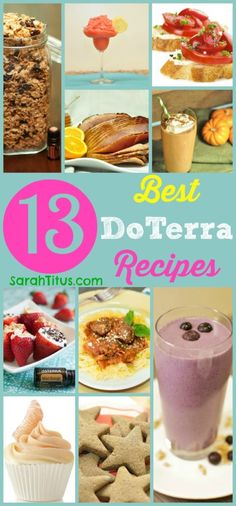 One of the things I love to do with my kids is make fun, simple, and healthy treats. It's great quality time spent and always seems to bring us closer. :) 13 Best DoTerra Essential Oil Recipes