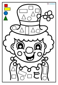 Gratis E-Book: Karneval in der Kita Body Preschool, Preschool Curriculum, Preschool Worksheets, Kindergarten Math, Preschool Activities, Activities For Kids, Clown Crafts, Circus Crafts, Carnival Crafts