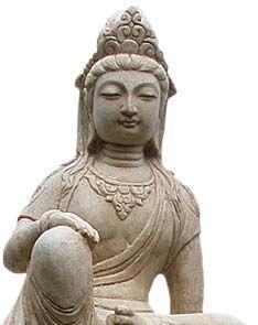 Antique White Marble Quan Yin On Snow Lion Lotus Sutra, Buddha Zen, Beautiful Goddess, Guanyin, Buddhist Art, Gods And Goddesses, White Marble, Deities, Asian Art