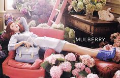 Lindsey Wixson, Spring 2011 Mulberry campaign