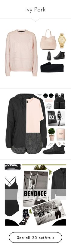 """""""Ivy Park"""" by dmjackson04 ❤ liked on Polyvore featuring Topshop, Canvas by Lands' End, Michael Kors, Ivy Park, Estée Lauder, Moscot, Jewel Exclusive, adidas Originals, Urbanears and Beyonce"""