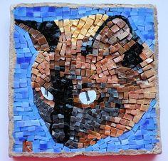 Siamese Cat Mosaic Portrait GHABK by LachanceGlassMosaic on Etsy