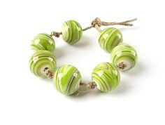 Etsy listing at https://www.etsy.com/listing/239046602/handmade-lampwork-bead-set-glass-bead
