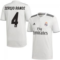 Camisetas fútbol Sergio Ramos. Real Madrid 2018-2019 ... a28c98b3f867b