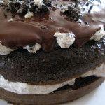 Cookies 'n Cream Layer Cake