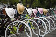 Bicycles in Jakarta, Indonesia. #Jakarta #Indonesia