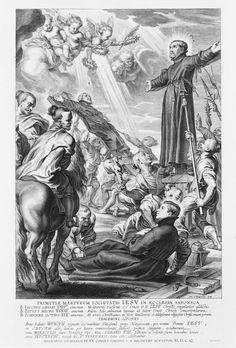 Schelte à Bolswert [Bolsward, c. 1586 - Antwerp, 1659] The Martyrdom of the Jesuits in Japan
