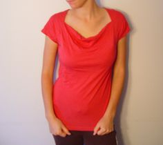 MEXX top. Less bright than it appears on photo (amaranth color). 50% cotton, 50% modal. Size M.