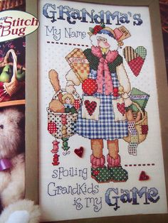 Cross Country Stitching Magazine February 1997 Cross Stitch Pattern Magazine