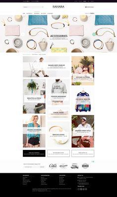 SAHARA - Fashion 3 - Ultimate Responsive Magento Themes