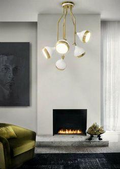 INSPIRING SUSPENSION LAMPS FOR YOUR LIVING ROOM_See more inspiring articles at: www.delightfull.eu/en/inspirations/