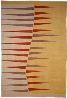 UNTITLED - 361 by Georgina Von Etzdorf; Can be produced to colour, size and weave specifications.  From Christopher Farr, Conf 361  Size 1.83 × 1.22m (6' × 4')  Weave Handwoven flatweave  Materials Handspun, Anatolian wool & mohair