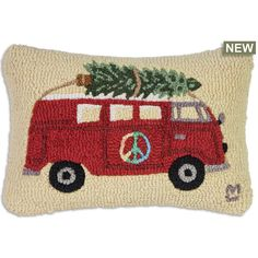"Peace in the takes on a new meaning for aging ""flower children"". Remember the good old days, when a Christmas tree was a trip with a saw to the forest in a Volkswagen van:) Kings Crown, Punch Art, The Good Old Days, Pillow Inserts, Flower Children, Reusable Tote Bags, Peace, Throw Pillows, Wool"