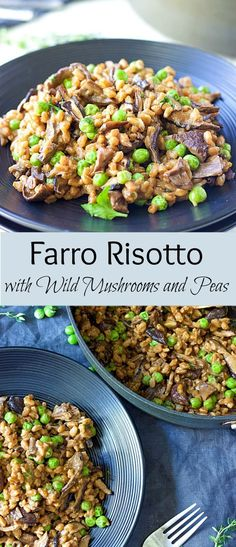 Baked Farro Risotto Recipe — Dishmaps
