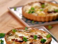 Neelys' Quiche Tartlets : These individual, cheesy quiches are a great way to start a meal in the right direction.
