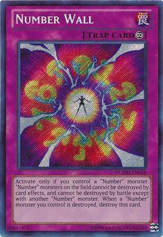 Number Wall Secret Rare Yugioh card