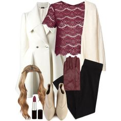 Lydia Inspired Winter Outfit with Black Leggings by veterization on Polyvore featuring Topshop, H&M, Alexander McQueen, American Eagle Outfitters and Rimmel