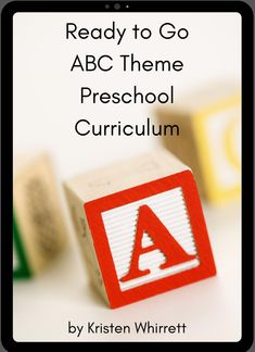 This is a great ebook for teaching preschool! If you are a homeschool mom, this preschool curriculum is perfect for you. It's ready to go with so many great ideas! #homeschool #homeschoolpreschool #preschool Abc Preschool, Homeschool Preschool Curriculum, Preschool Centers, Preschool Printables, Preschool Activities, Homeschooling, Learning Letters, Fun Learning, Letter Activities