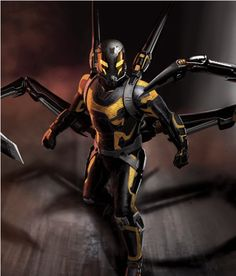 Get A Closer Look At 'Yellowjacket' Concept Art From Marvel's ANT-MAN