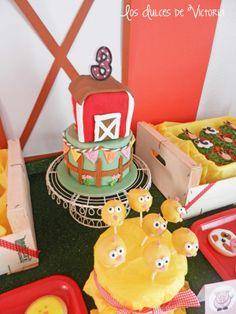 McDonald's Farm Birthday Party via Kara's Party Ideas   Kara'sPartyIdeas.com #mcdonald #farm #birthday #party #supplies #ideas (7)