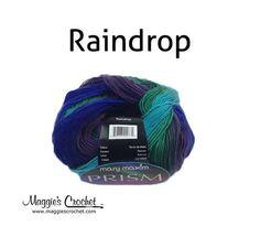 Just bought this to make legwarmers! Mary Maxim Prism Yarn - Raindrop - www.marymaxim.com