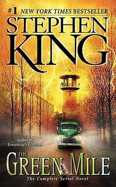 The Green Mile by Stephen King - The New York Times bestselling dramatic serial novel and inspiration for the Oscar-nominated film of the same name starring. Feel Good Books, I Love Books, Great Books, Books To Read, New York Times, John Coffey, King Author, Steven King, Stephen King Books