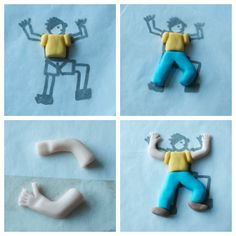 How to make a rock climbing birthday cake/ How to make sugarpaste models http://cakesbakesandcookies.com/how-to-make-a-ro…ng-birthday-cake/