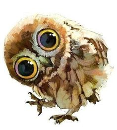 , Owl (and other super cute animal illustrations) by a team of Chinese artists Ya. , Owl (and other super cute animal illustrations) by a team of Chinese artists Yang Xue and Chen Xi, also known as Xue Wawa. Art And Illustration, Animal Illustrations, Illustrations Posters, Bird Art, Painting Inspiration, Painting & Drawing, Bird Painting Acrylic, Amazing Art, Awesome