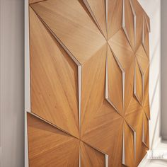P2 wall panels on Behance #wall #timber