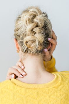 braided faux hawk how-to