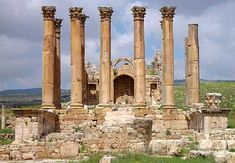 The Temple of Artemis at Ephesus, Turkey -- It was the most beautiful structure on earth, with over 100 marble columns ... It was built in honour of the Greek goddess of hunting and wild nature, Artemis.