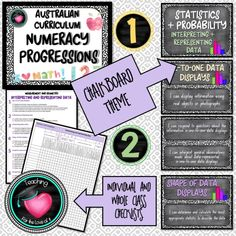 National Numeracy Progressions Statistics and Probability BUNDLE Australian Curriculum - Teaching for the love of it. Eighth Grade, Fourth Grade, Grade 1, Second Grade, Teaching Strategies, Teaching Math, Math Made Easy, Visible Learning, National Curriculum