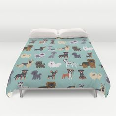 DoggieDrawings bed cover!