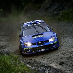 Subaru Impreza WRX STI Hawkeye Rally New Zealand 2006 Chris Atkinson