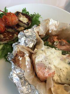Voita ja Suolaa: Lohi-kasvisnyytit Grillissä
