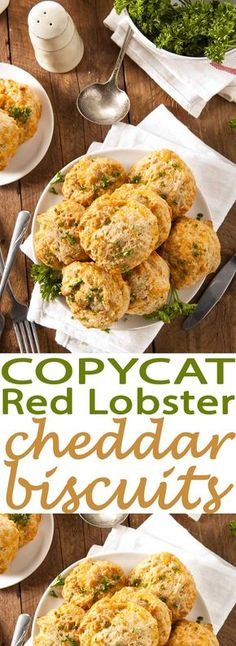 This is an absolutely must try recipe. We love these Copycat Red Lobster Cheddar Biscuits. They are SO SO good!