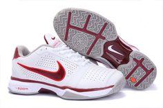 3b329367700b zoom vapor 8 club roger federer Bue Cheap Nike tennis 431842 101 White Red  for sale