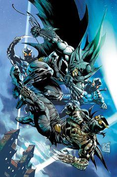 Batman and talon by Tony Daniel