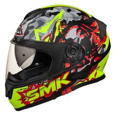 The Twister model stands out in the 2016 SMK collection. A latest-generation full-face helmet, it responds to the most demanding requisites in terms of performance, comfort and safety. Lightness, the aerodynamic form of the shell and extreme comfort characterise this SMK helmet, which is a leader in its category. The external shell is moulded in EIRT (Energy Impact Resistant Thermoplastic), a thermoplastic resin that is particularly resistant to impact, and has an aerodynamic shape that offer... Full Face Helmets, Latest Generation, Safety, Resin, Shell, Graphics, Model, Collection, Hard Hats