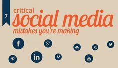7 Critical #SocialMedia Mistakes Youre Making http://itz-my.com