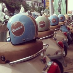 The Beautiful World of Vespa<3