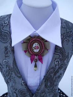 Купить или заказать Брошь- орден 'Восхитительная Роза'