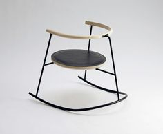 danish design chair steel