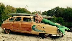 Merman with a woody