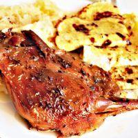 Kačena na moravský způsob (se zelím a lokšemi) Pork, Chicken, Meat, Cooking, Pork Roulade, Baking Center, Pigs, Kochen, Cuisine