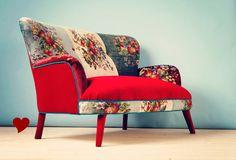 anne makeup®: mural de décor: alegria em casa com poltronas de patchwork