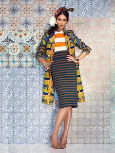fantastic mix of stripes and pattern
