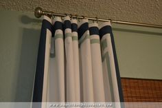The Easiest DIY Curtain Panels (Why No-Sew Curtains Are Unnecessary) - Addicted 2 Decorating®