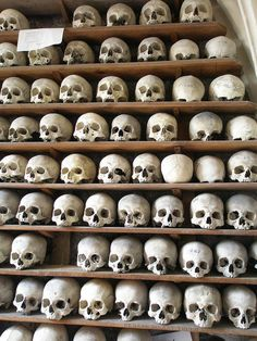The Ossuary, Hythe The crypt of St Leonard's Church in Hythe contains one of…