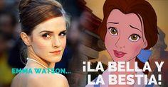 @EmWatson y Disney listos para #TheBeautyandTheBeast #Kafecitos #LoMejordelaSemana #Movie